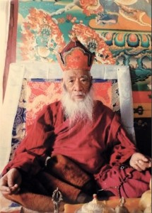 His Holiness Chatral Sangye Dorje Rinpoche